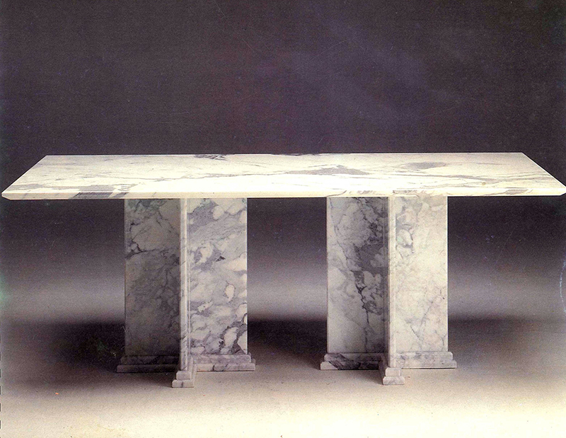 Design pio porcinai designer sito ufficiale - Tavolo marmo design ...