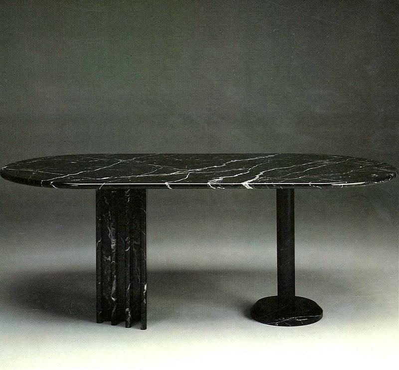 Design pio porcinai designer sito ufficiale for Tavolo marmo design